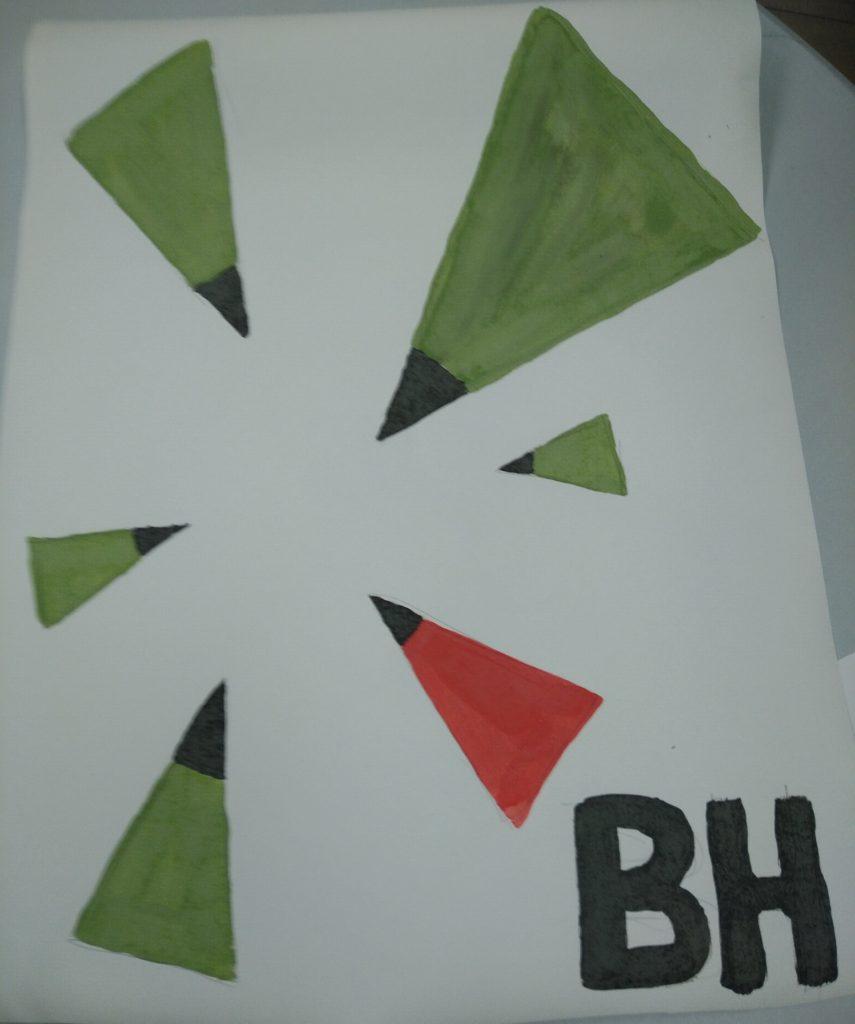 Bioschemas painted logo